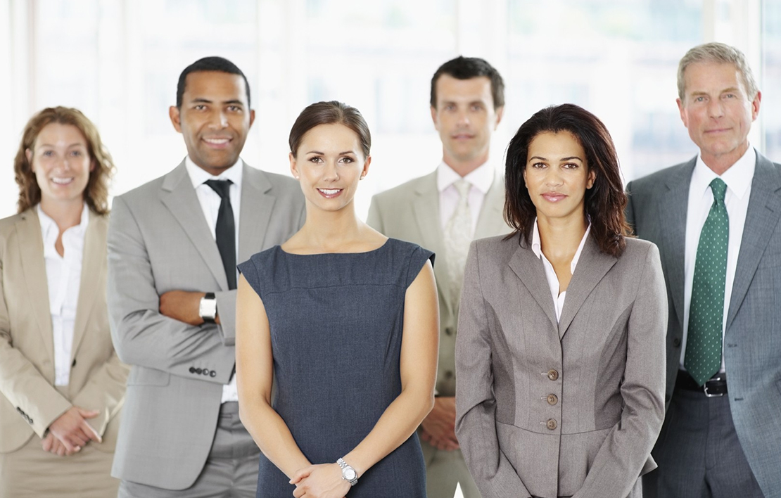 A group of male and female businesspeople agents wanted - agents wanted 2x - Agents Wanted